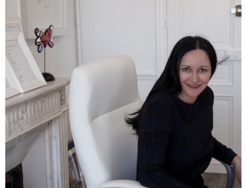 French Dermatologist, Sylvie Bouree at Michael John